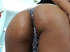 Two hot shemales anal toying and fucking