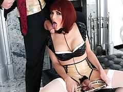 Eva Has A Mistress! Miss Daniels Wants Her To Go Down On Her