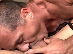 Tranny Loves To Get Fucked Hard By Strong Dude With Big Cock