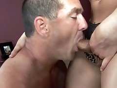 Scene With Dude Fucking A Transsexual Really Hard