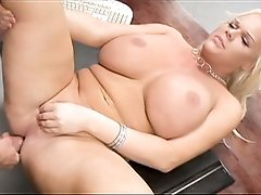 Fat cock deep in her very rarely bottomed tranny love hole!
