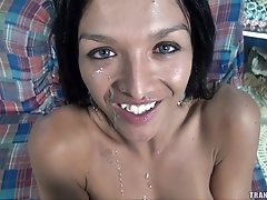 Michelly Cinturinha loves cock and sperm. She has big round boobs, long sexy...