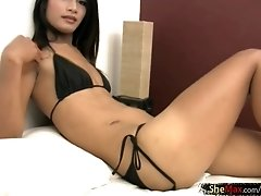 Whether you are a top or a bottom she is packing the required tools for some...