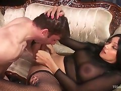 Legendary Yasmin is in charge, and her male slave must obey. Let's see,...