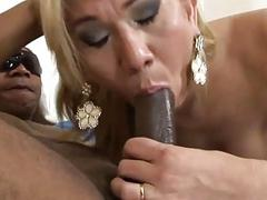 Perfect tranny goes hardcore